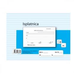 BLOK ISPLATNICA  A6 NCR/KOPIRNAA-2/NCR-16,2x10 cm- broj listova: 100
