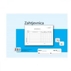 ZAHTJEVNICA A5 NCR-KOPIRNA A-27NCR