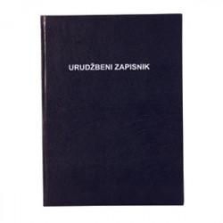 URUĐBENI ZAPISNIK -II-12/C- dimenzija: 25x34,7 cm- broj listova: 156